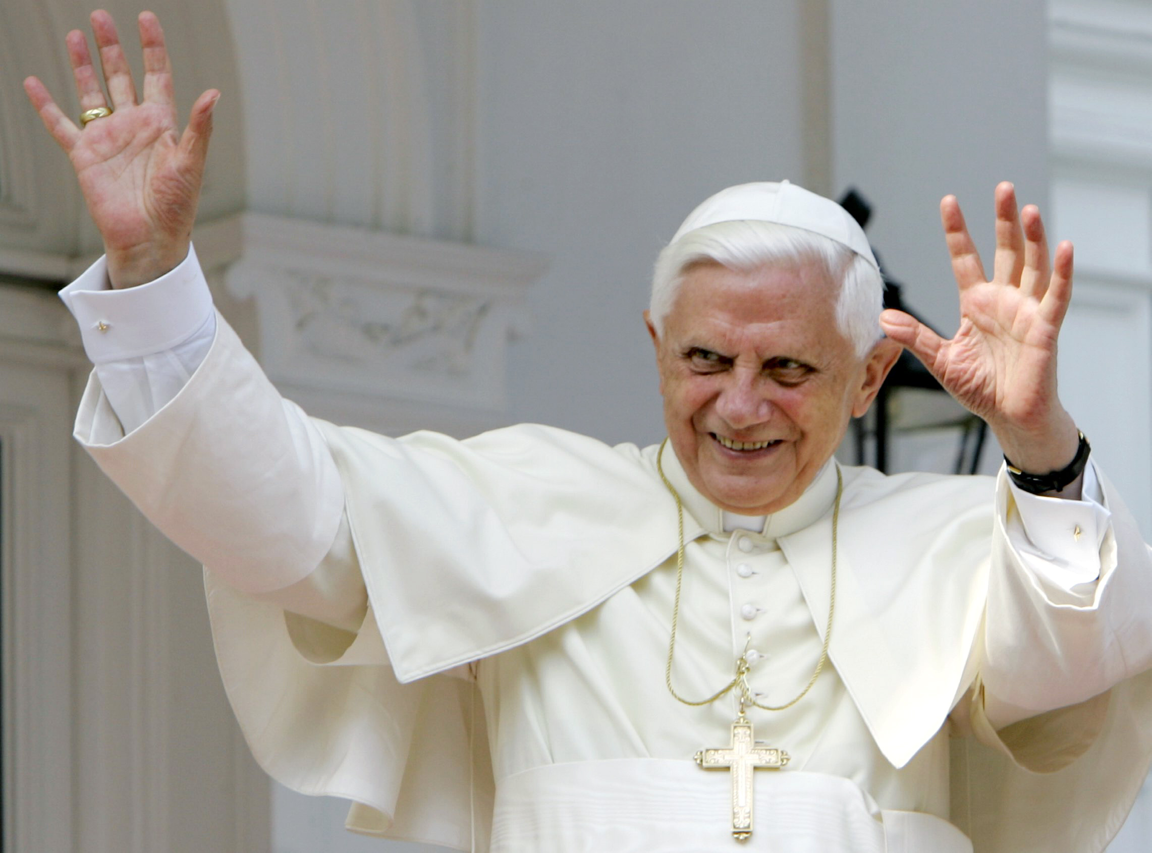 benedict xvi Pope benedict xvi is the 265th pope he was elected on april 19, 2005 at the age of 78 - the oldest to have done so since pope clement xii 1730 he stood down on.
