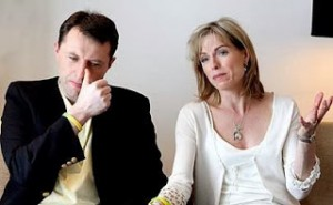 Kate and Gerry McCann, the parents of Madeleine.
