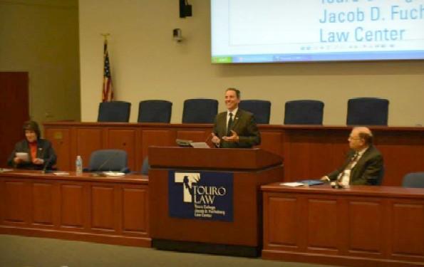 New York State Senator Jack Martins addressing the