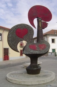 "The ""galo"" in a street of Barcelos"