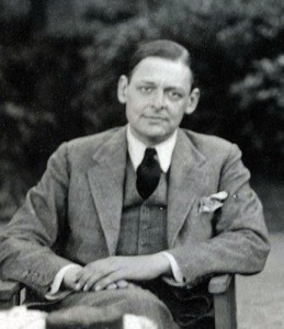 T. S. Elliot photographed in 1934 by Lady Ottoline Morrell