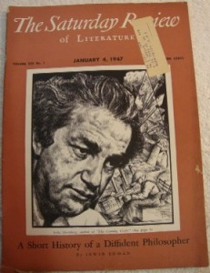 The Saturday Review of Literature of January 4, 1947