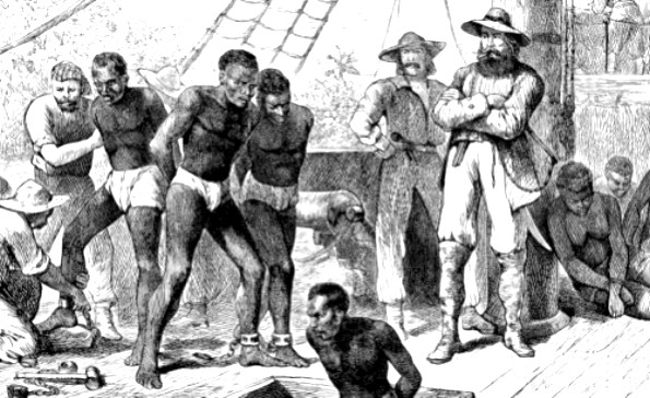 Slavery bottom image