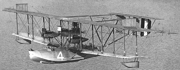 The Curtis NC-4 after her return to the U.S.A., 1919