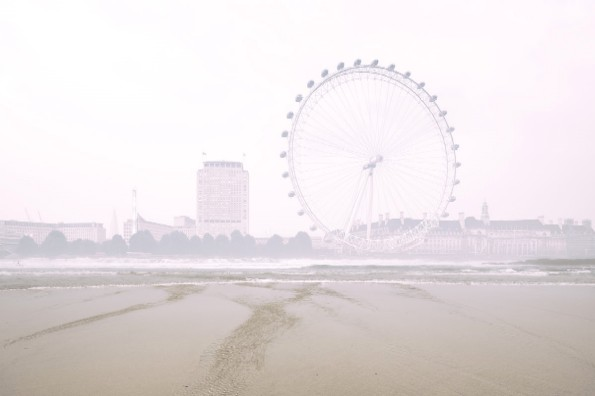 Photographed at the Praia das Maçãs; and at the London Eye