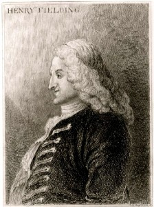 Henry Fielding, circa 1743 etching from Jonathan Wild the Great
