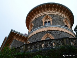 Circular tower of Monserrate Palace, Sintra
