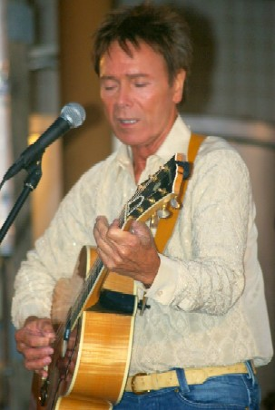 Cliff Richard performs in the Algarve