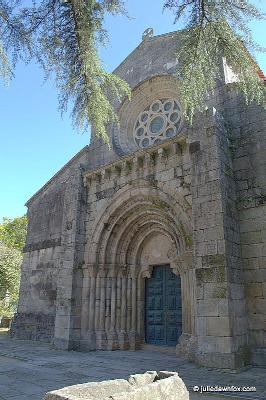 Front view, Paço de Sousa Monastery