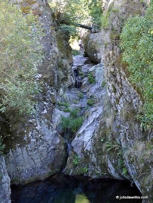 Poço-do-Inferno, in Serra da Estrela.