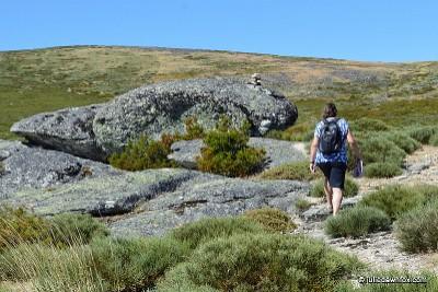 Shepherds' Route. Penhas da Saúde, Serra da Estrela.