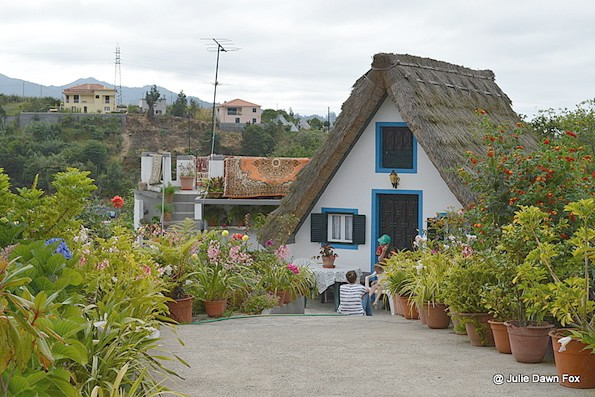 Traditional house with extension, Santana, Madeira