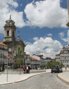 Largo do Toural, Guimarães, Portugal.  Photo by Joshua Grunda