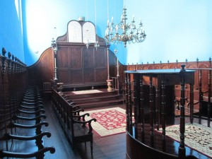 The restored synagogue of Ponta Delgada as it exists today.