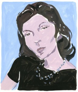 Clarice Lispector, by Jean-Philippe Delhomme.