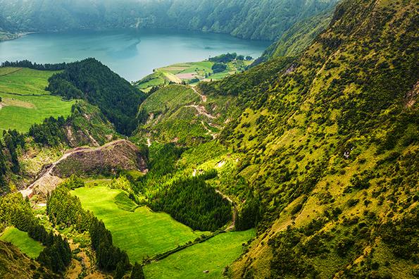 Sete Cidades. São Miguel, Açores.