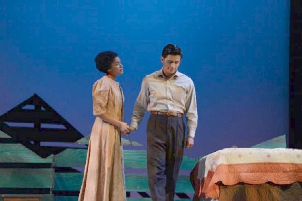 """Kitimat"" by Elaine Avila; directed by Janet Hayatshahi. Photo by Pomona College Theater and Dance."