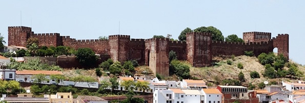 The Silves castle still dominates the skyline of the Algarve's former capital city.