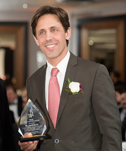David Simas, Director of the White House Office of Political Strategy and Outreach was awarded the MAPS Person of the Year.