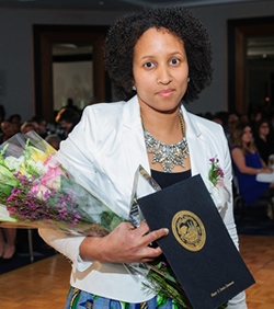 Dr. Aminah Fernandes Pilgrim was honored with the MAPS Jorge Fidalgo Community Service Award