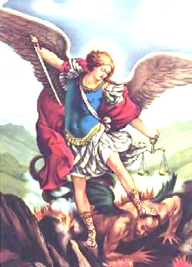 Saint Michael is very important...