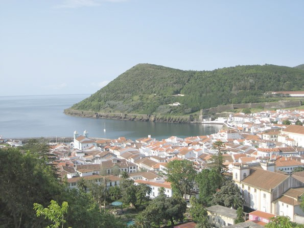 City of Angra do Heroismo, Terceira Island, Azores.