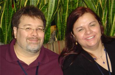 Dan and Sarah A. Hoyt (Sarah is an award-winning author of many fantasy novels. Her husband Dan is a rocket scientist, mathematician and writer)