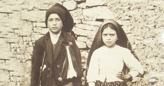 Francisco Marto and his cousin Jacinta Marto