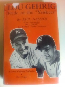 Gehrig book cover