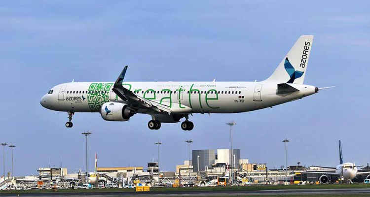 Azores Airlines: New Airbus A321 to debut on Boston-Ponta