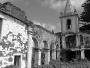 Church interior in Faial, destroyed by an earthquake.