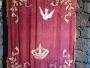 Typical damascene embroidery of Divino Espírito Santo.