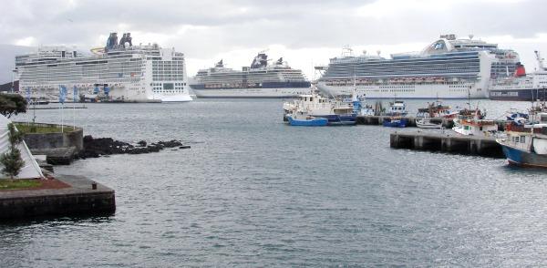 Ponta Delgada Hosted 14 Cruise Ships In May Azores