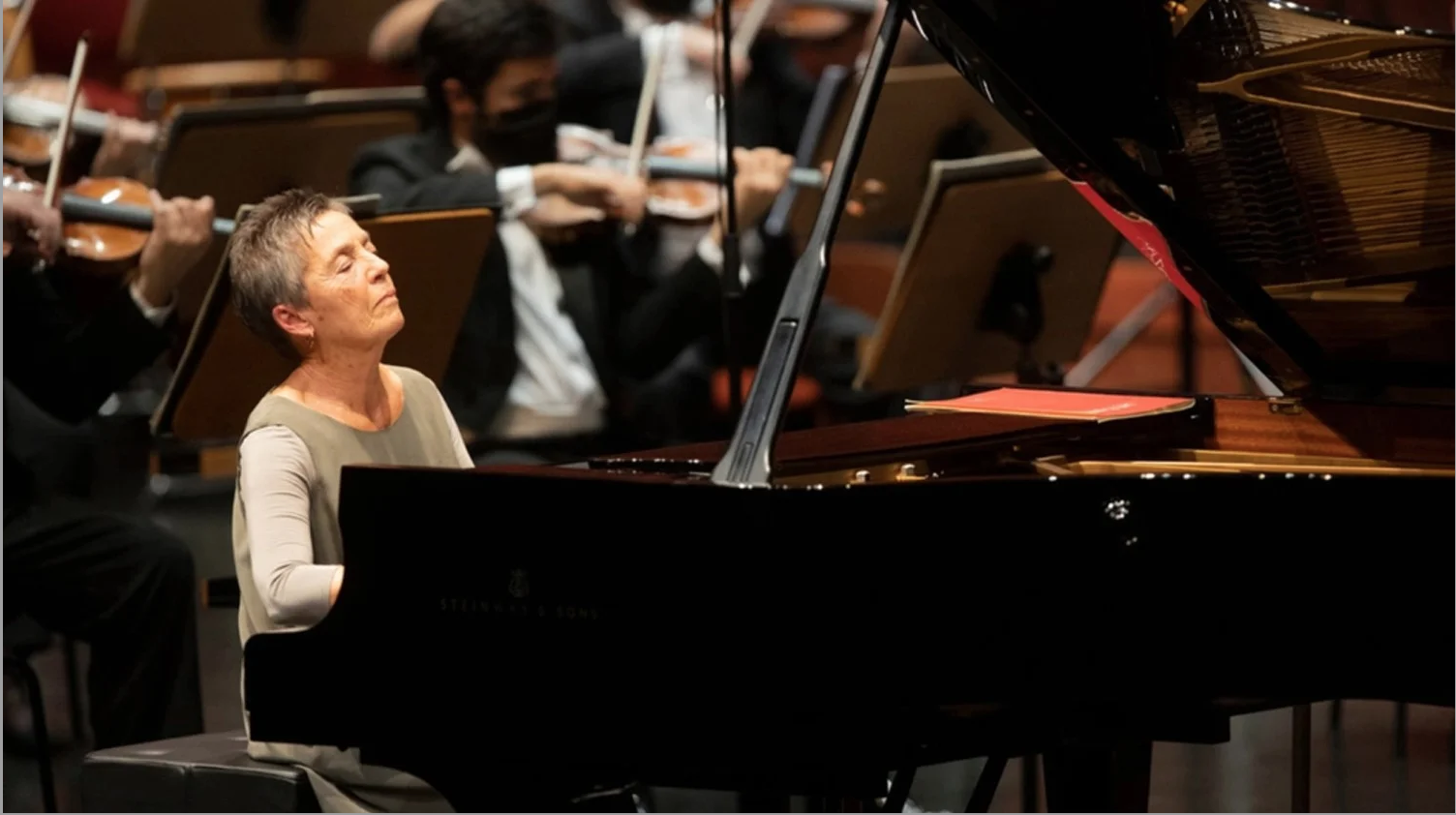 "Photo of Music: Maria João Pires suffered a ""bad fall"" – Riga, Latvia   Portuguese American Journal"